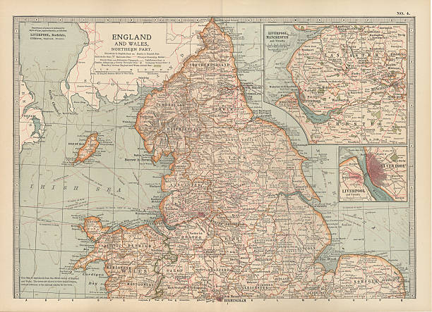 map of england and wales pictures getty images