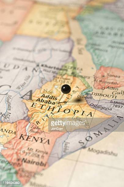 map of Ethiopa