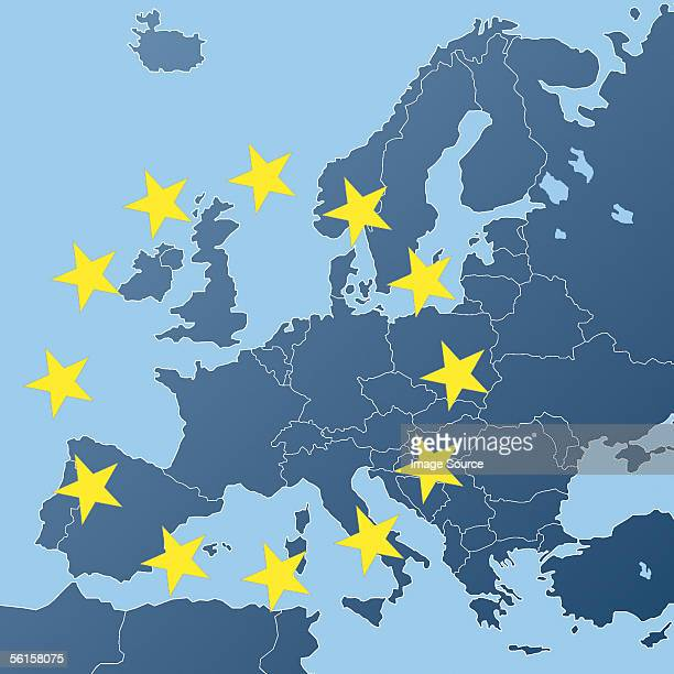Map of European Community