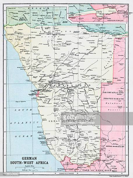 Southwest Africa Map.South Africa Map Stock Photos And Pictures Getty Images