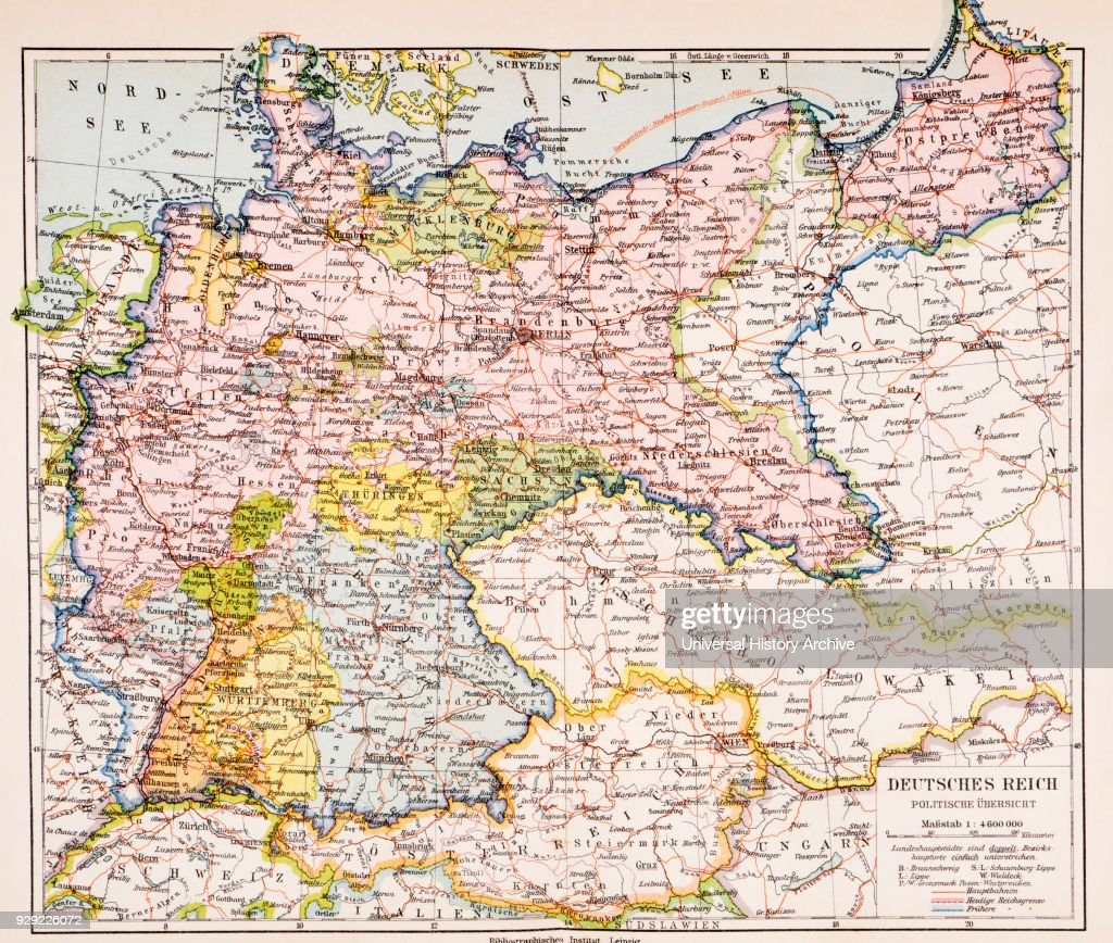Map of germany between world war one and world war two pictures map of germany between world war one and world war two from meyers lexicon gumiabroncs Gallery