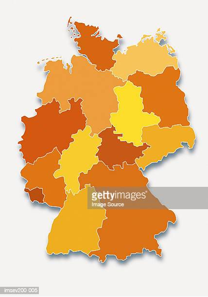 30 Hochwertige Germany Map Bilder und Fotos - Getty Images