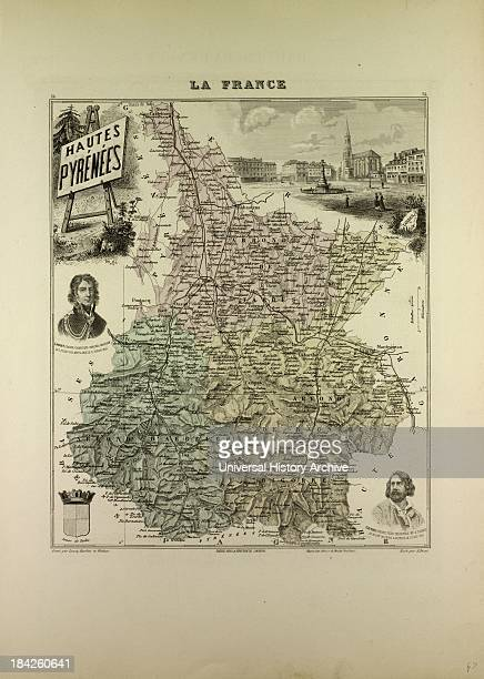 Map Of Hautes Pyrenees France
