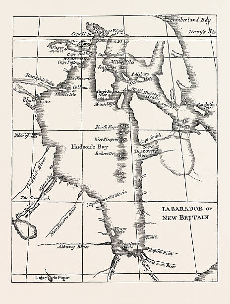 Hudson Bay On Us Map.Map Of Hudson S Bay Pictures Getty Images