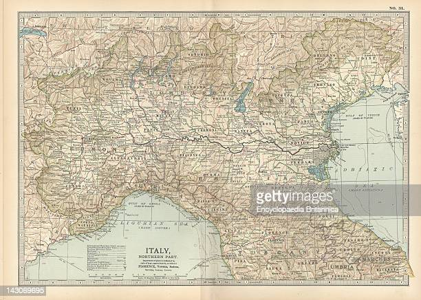 Piemonte Italy Map Stock Photos And Pictures