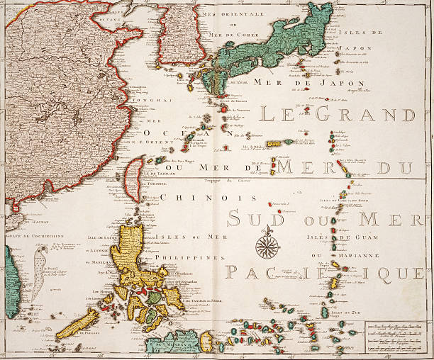 Map Of Japan Korea And Philippines Pictures Getty Images