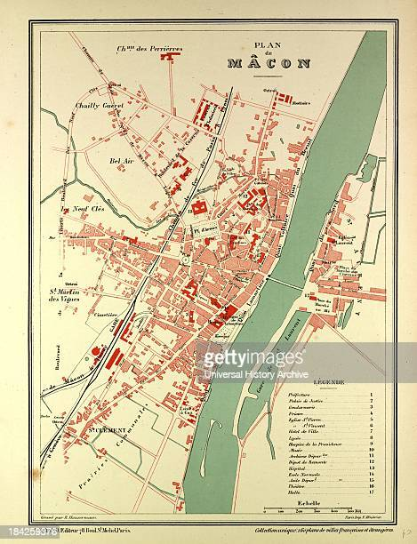 Macon France Map.Macon Map Stock Photos And Pictures Getty Images