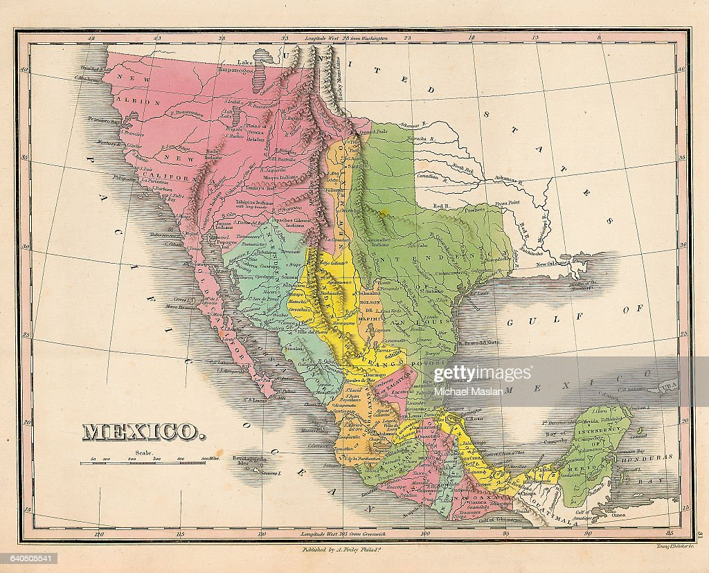 Albion Idaho Map.A Map Of Mexico Created In 1826 Includes The Regions Of New Albion