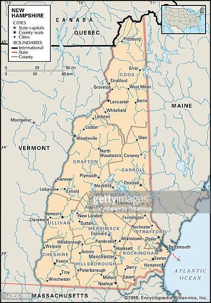 New England Map Stock-Fotos und Bilder - Getty Images