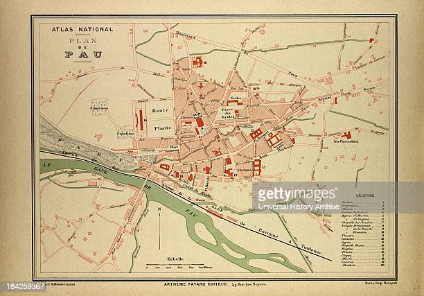 Map Of Pau, France
