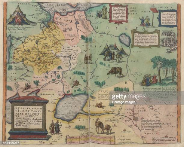 Theatrum Orbis Terrarum 1573 From a private collection