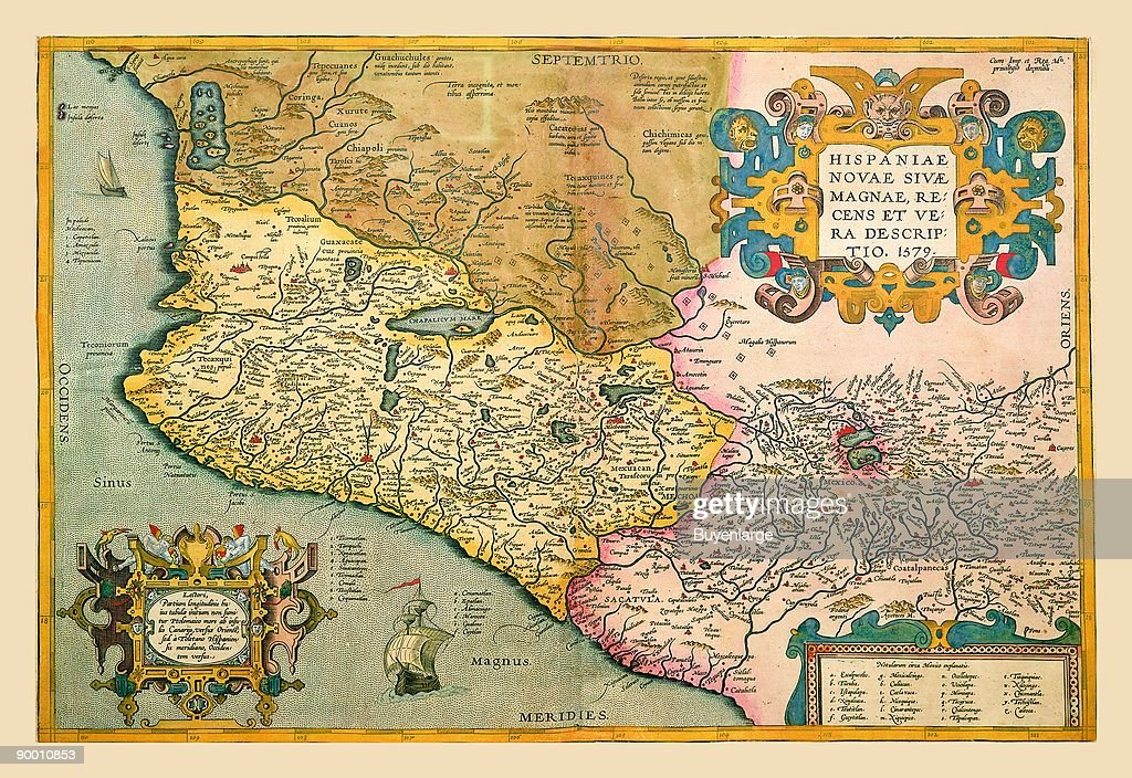 Map of South Western America and Mexico News Photo - Getty Images