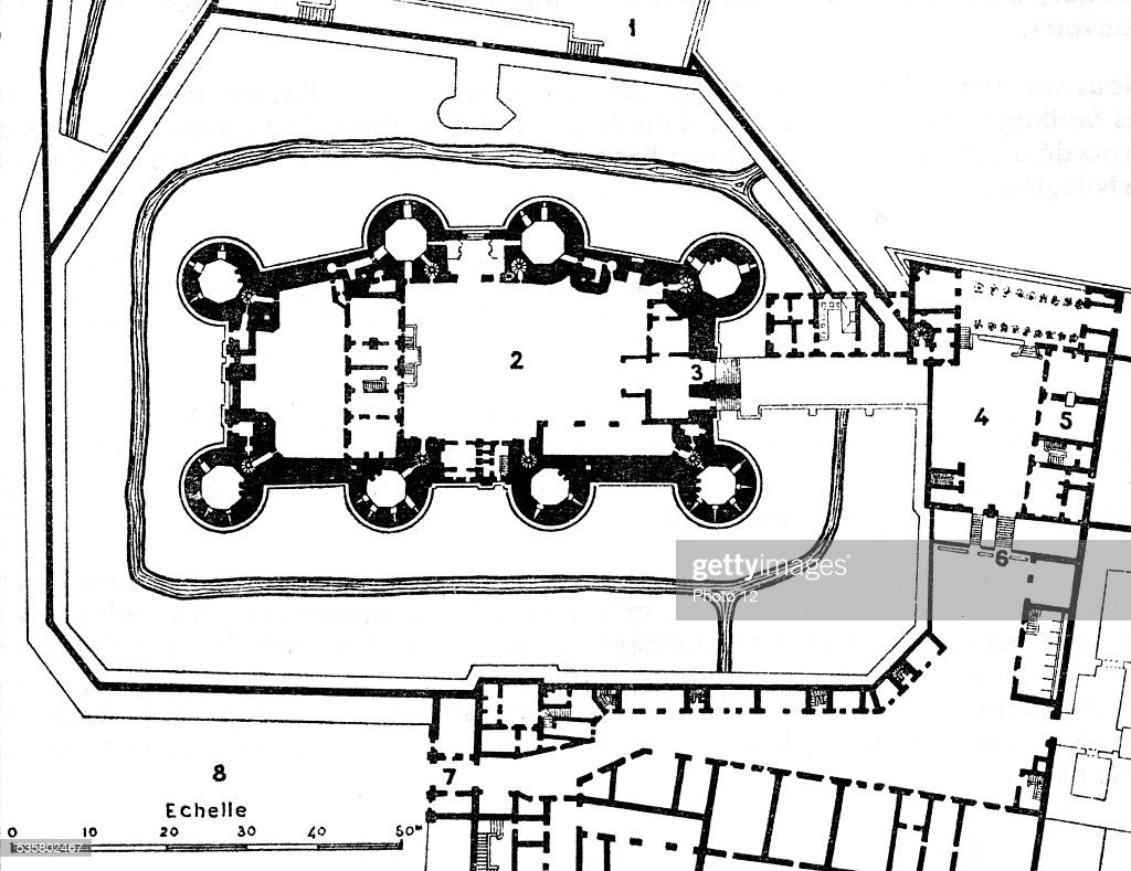 Map of the bastille after contemporary blueprints pictures getty map of the bastille after contemporary blueprints malvernweather Images