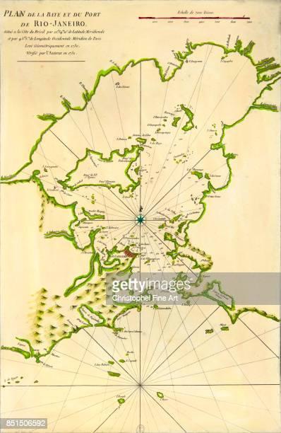 Rio De Janeiro Map Stock-Fotos und Bilder   Getty Images