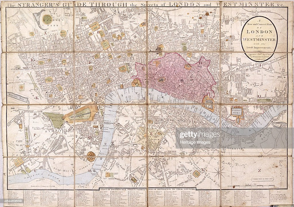 Map Of The City Of London.Map Of The City Of London City Of Westminster River Thames
