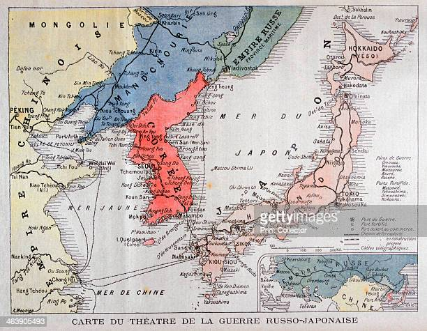 Map of the theatre of the RussoJapanese War 1904 The RussoJapanese War arose due to the two countries' conflicting territorial ambitions in East Asia...