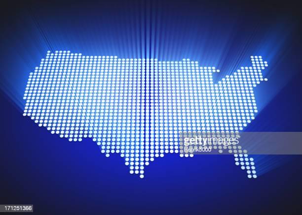 マップの US -LED スタイル