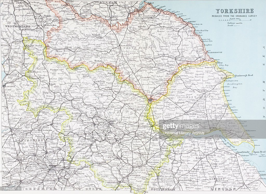 Map Of Yorkshire, England In The Late 19Th Century. From Picturesque Yorkshire England Map on hartlepool england map, south downs england map, north yorkshire map, north yorkshire, uk england road map, york england map, sussex england map, scotland map, west yorkshire, rome england map, united kingdom map, trowbridge england map, glossop england map, hampshire england map, wales map, st bees england map, derbyshire england map, london england map, lincolnshire map, horley england map, leeds england map, northumberland england map,