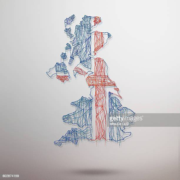 uk map - british culture stock pictures, royalty-free photos & images