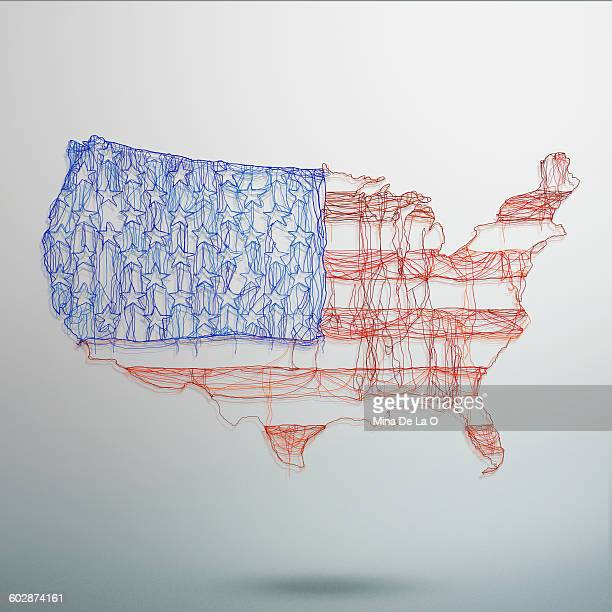 us map - democracy stock pictures, royalty-free photos & images