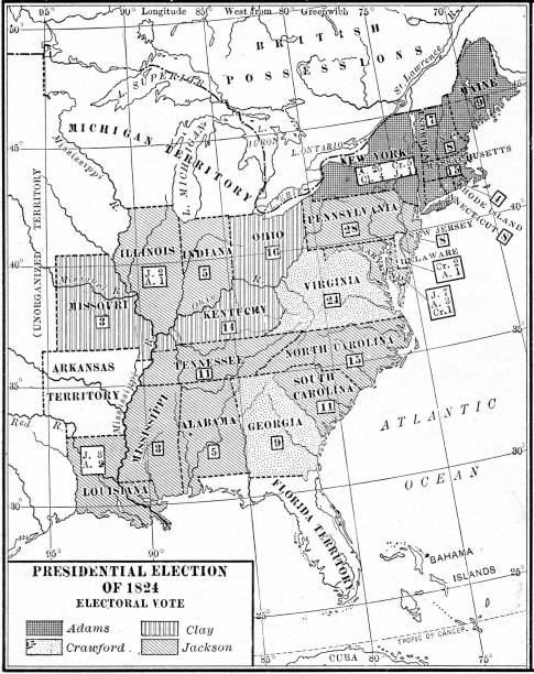 Electoral Vote In US Election Pictures Getty Images - Us electoral map