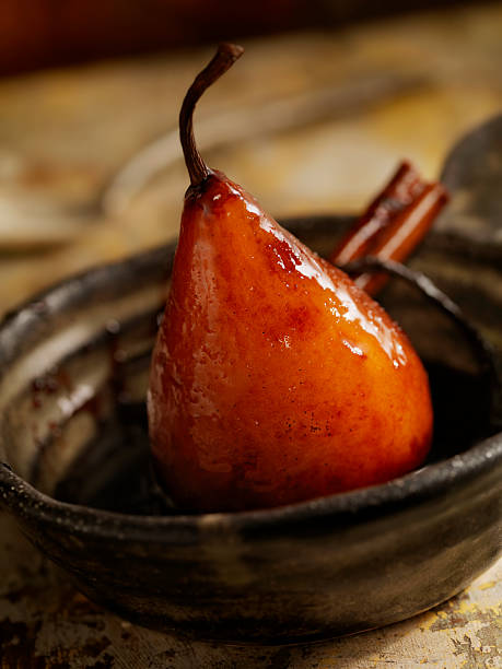 Maple Glazed Poached Pear Wall Art
