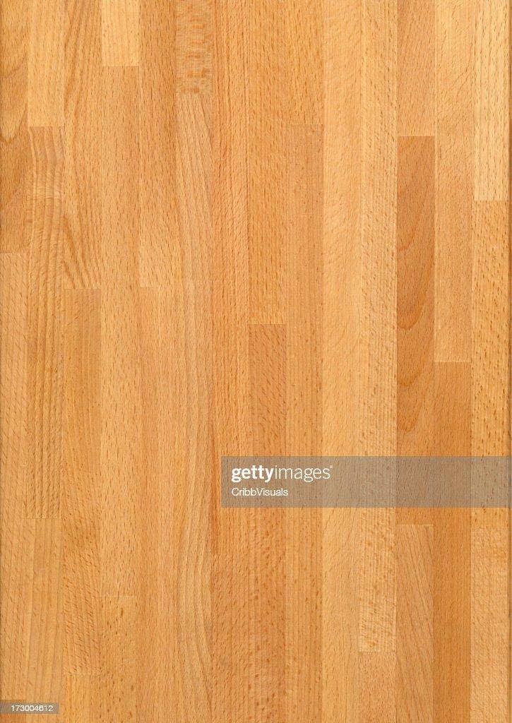 Maple Oak Butcher Block Wood Grain Background Stock Photo