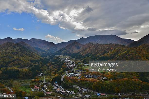 maple yamadera - 東北地方 ストックフォトと画像