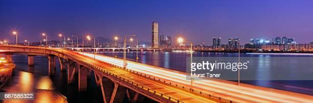 Mapo Bridge and Han River