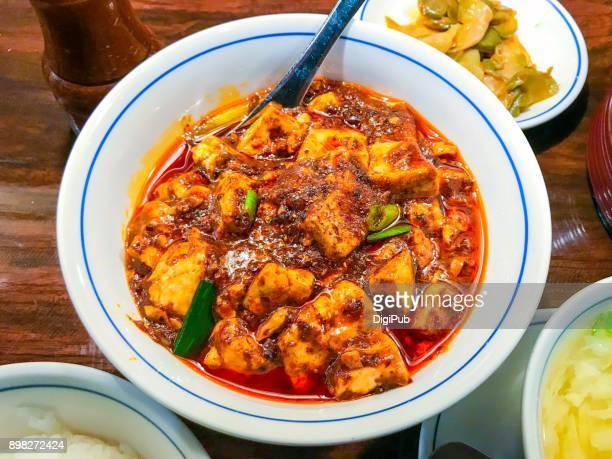 Mapo Tofu or Mapo Doufu, popular Szechwan cuisine