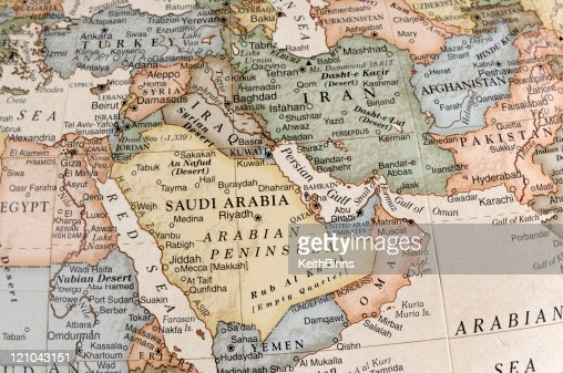 7 264 Middle East Map Photos And Premium High Res Pictures Getty Images