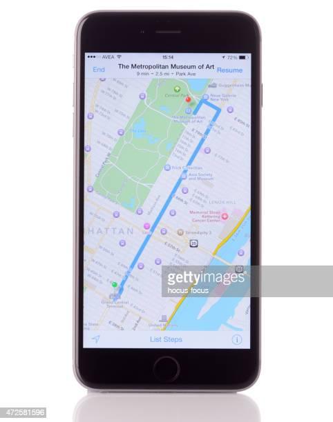 Maps on iPhone 6 Plus