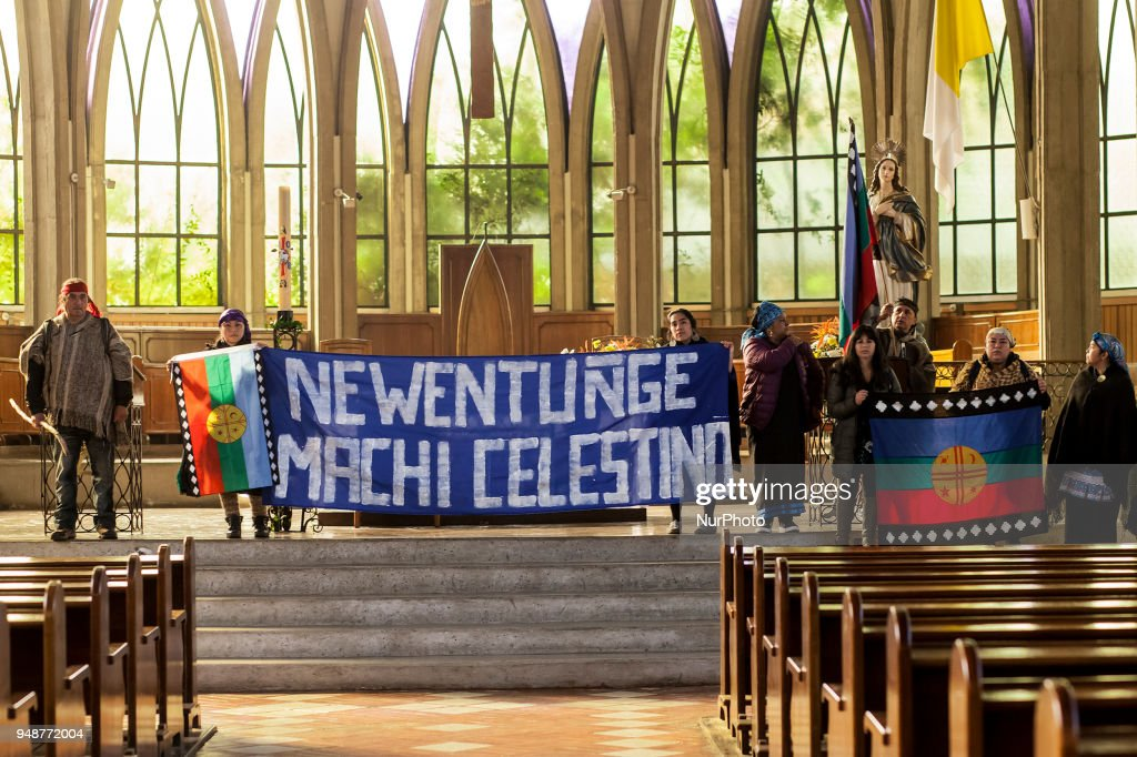 Mapuche Communities Take The Cathedral In Osorno
