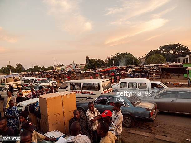 maputo bus station, mozambique - mozambique stock pictures, royalty-free photos & images