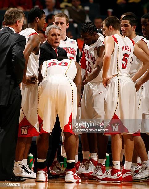 Mar 13, 2008 - Charlotte, North Carolina, USA - Marland coach GAR WILLIAMS against Boston College during the 2008 Atlantic Coast Conference ACC...