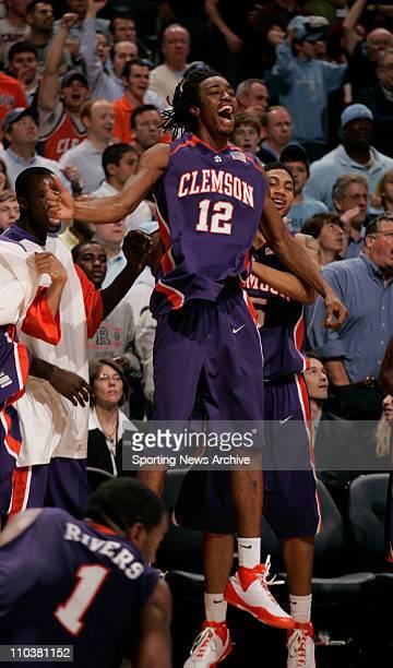 Mar 15, 2008 - Charlotte, North Carolina, USA - Duke against Clemson RAMOND SKES during the Atlantic Coast Conference ACC basketball tournament...