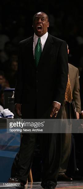 Mar 16, 2007 - Spokane, WA, USA - Oregon coach ERNIE KENT against Miami during the first round of the NCAA Tournament at the Spokane Veterans Arena...