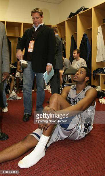 Mar 17 2007 Winston Salem NC USA Boston College againtt Georgetown PATRICK EWING JR during for the second round of the NCAA basketball tournament at...