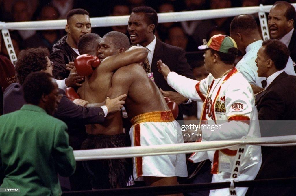 Tyson V Ruddock : News Photo