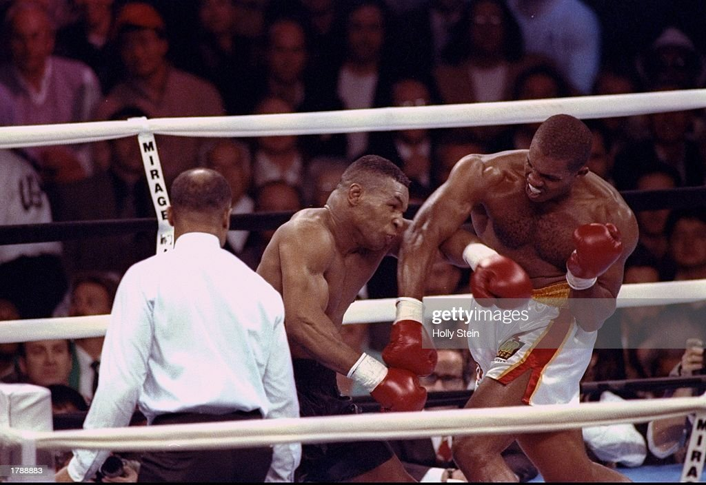 Tyson V Ruddock : News Photo