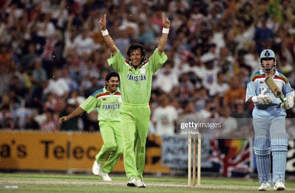 World Cup Final Imran Khan : ニュース写真