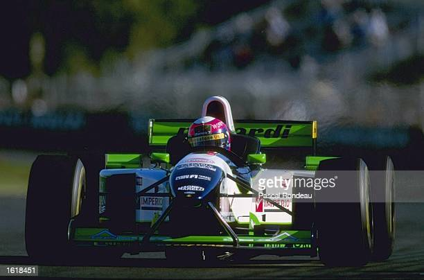 Pedro Lamy of Portugal in action in his Minardi during the Australian formula one Grand Prix at Albert Park Melbourne Mandatory credit Pascal...