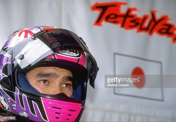 Portrait of Yamaha rider Tetsuya Harada of Japan before the 250cc class of the Malaysian Grand Prix at the Shah Alam circuit in Malaysia Harada...