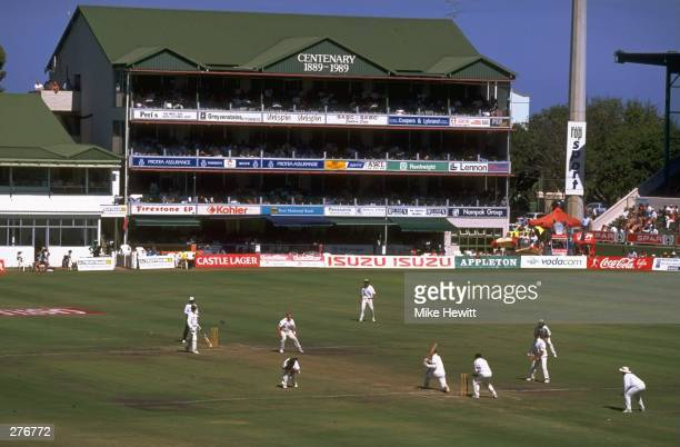 A general view of play during the second test match between South Africa and Australia at Port Elizabeth South Africa Mandatory Credit Mike Hewitt...