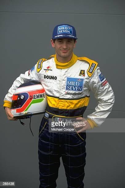 A portrait of Jarno Trulli of Italy before the Australian Grand Prix Trulli drives for Minardi Hart Mandatory Credit Mike Cooper /Allsport