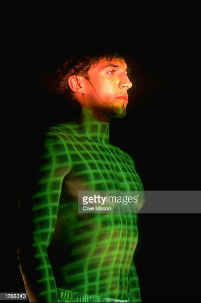 Portrait of footballer Alessandro del Piero of Italy during an Adidas Commerical Shoot in London Mandatory Credit Clive Mason/Allsport