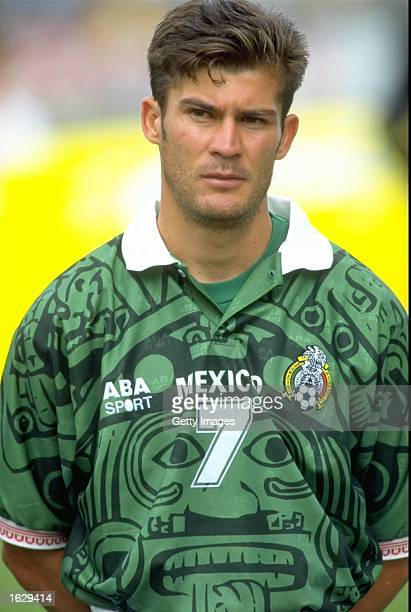 Portrait of Ramon Ramirez of Mexico taken during the World Cup qualifier against Costa Rica in Costa Rica The match ended 00 Mandatory Credit...