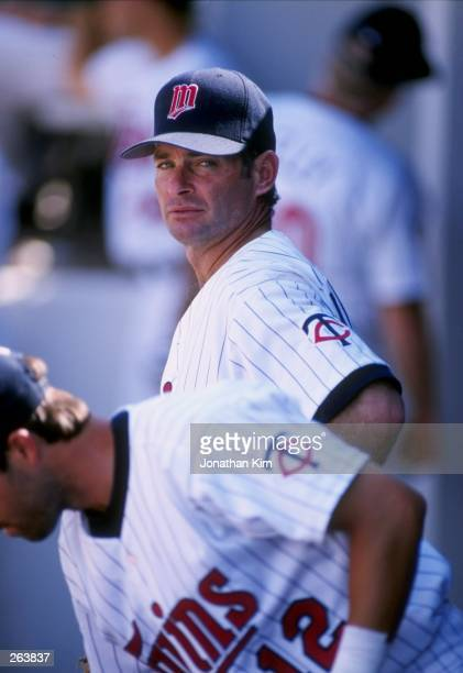 Infielder Paul Molitor of the Minnesota Twins in action during a spring training game against the Tampa Bay Devil Rays at the Hammond Stadium in Fort...