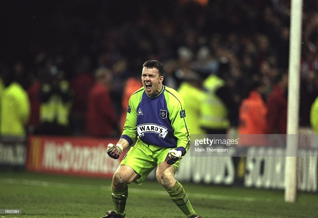 Sheffield United's keeper Alan Kelly : News Photo