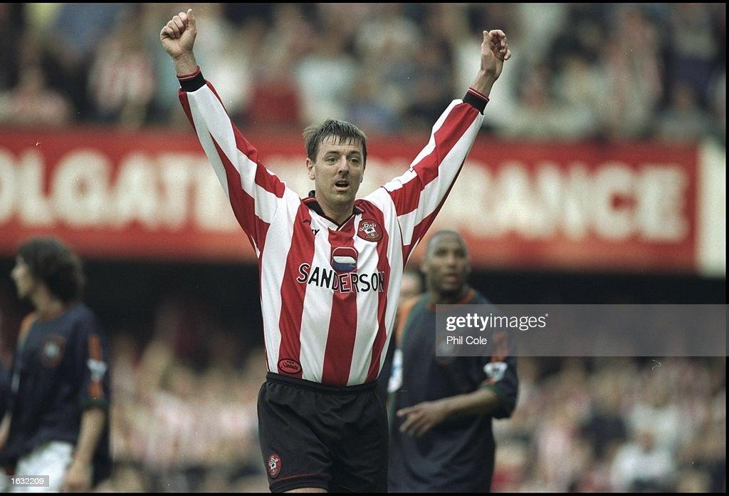 Matt Le Tissier of Southampton : News Photo